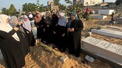 صورة حكم زيارة النساء للمقابر